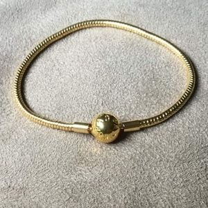 Pandora Golden Shine Bracelet
